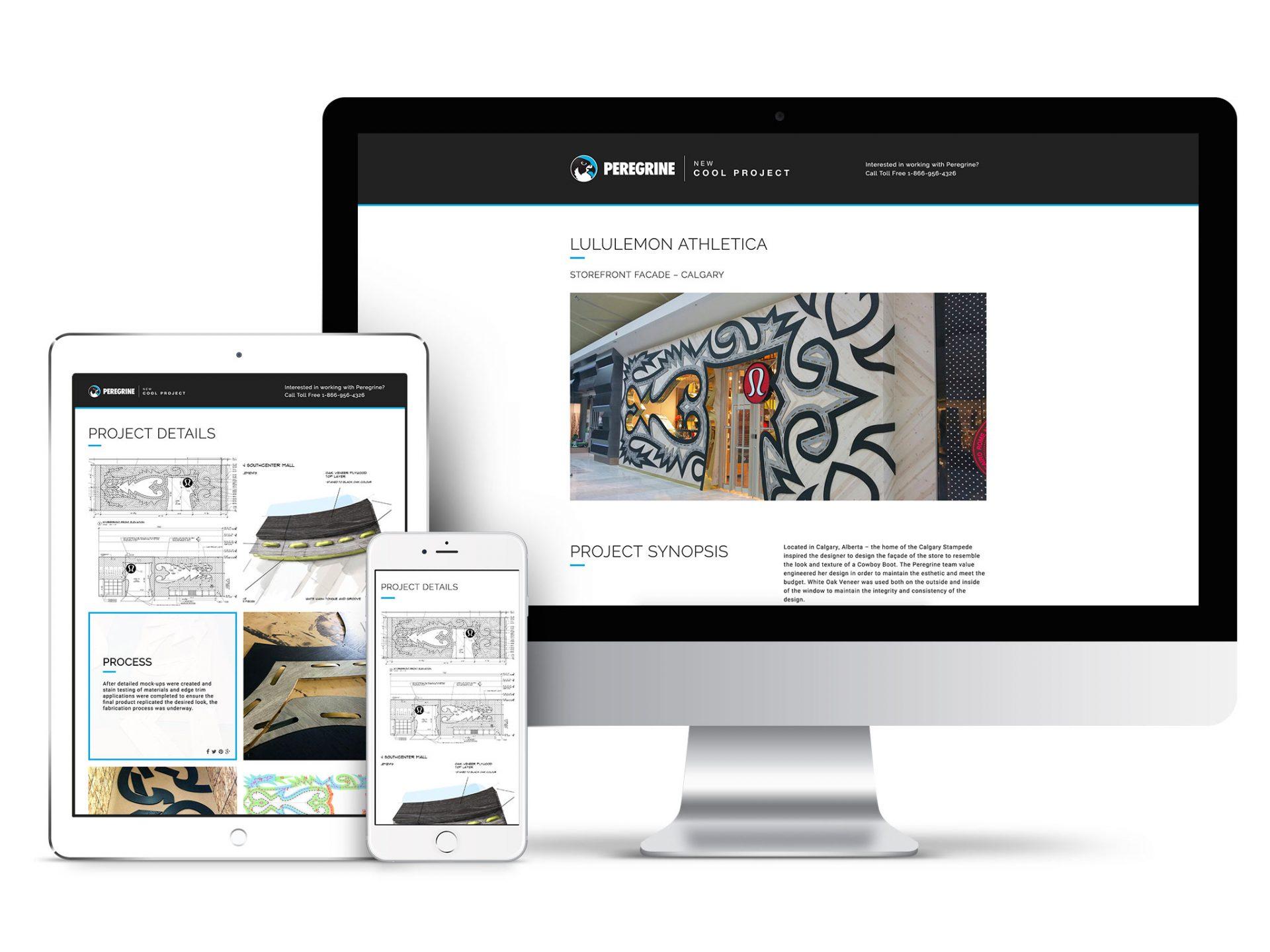 Y5 Creative Case Studies Website Peregrine
