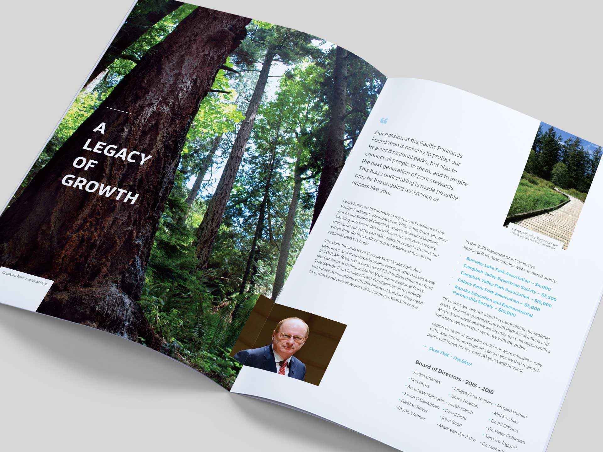 Y5 Creative Case Studies 2017 Annual Report 2016 Booklet Pacific Parklands Foundation 2