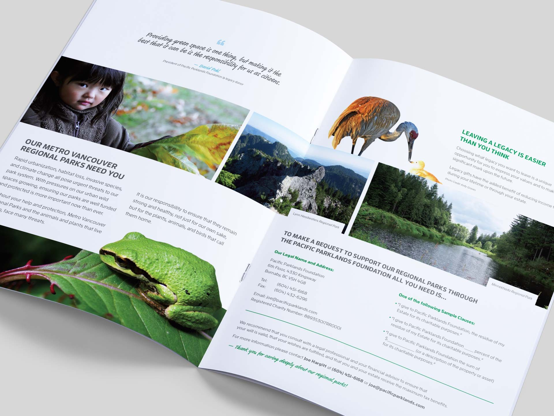 Y5 Creative Case Studies 2017 Legacy Booklet Pacific Parklands Foundation 2