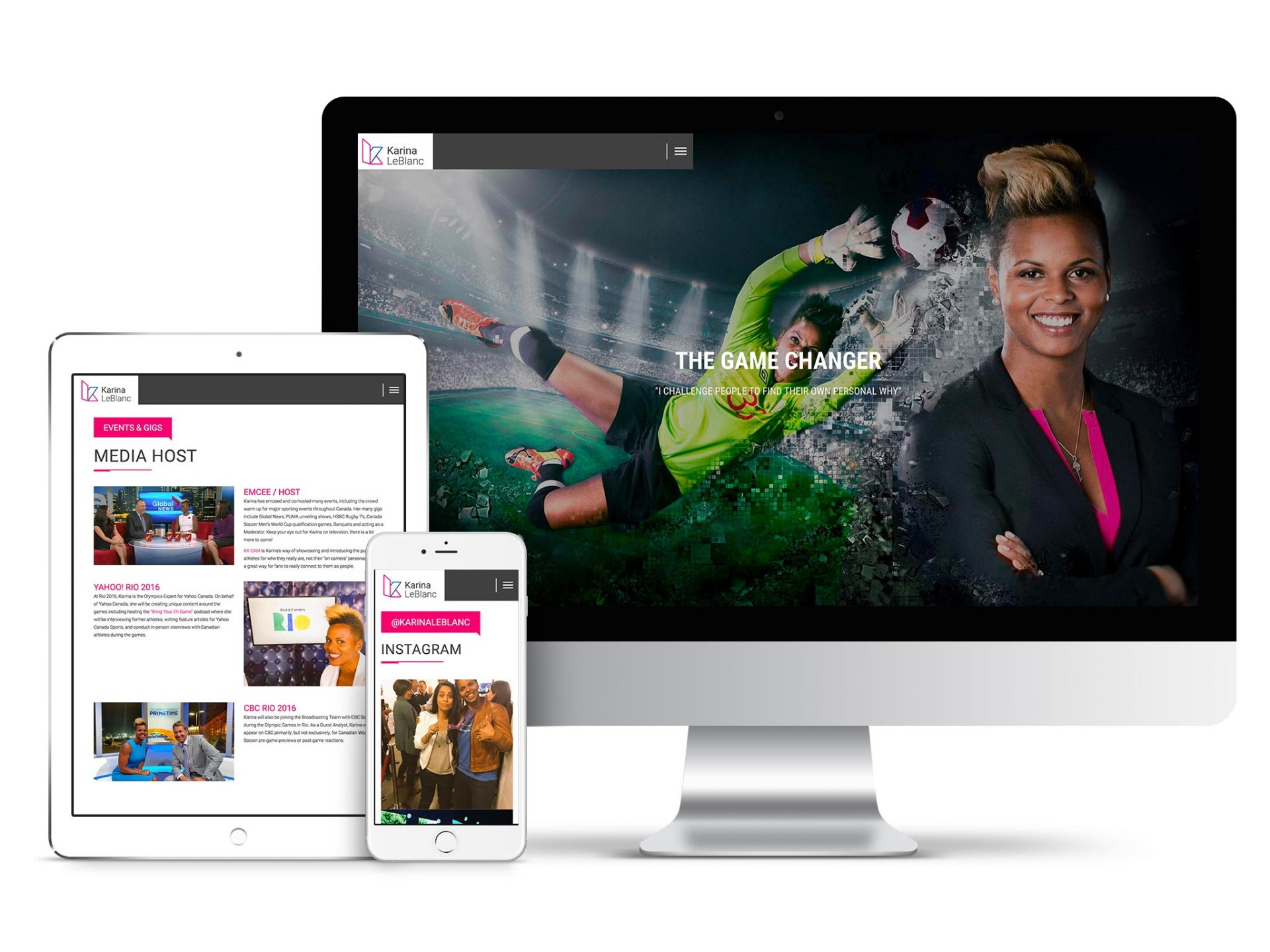 Y5 Creative Case Studies Website Karina LeBlanc