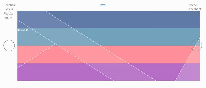 The Tinder of Color Palettes