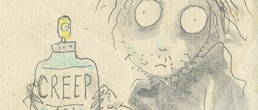 Tim Burton: An Illustrated Interview in the NY Times