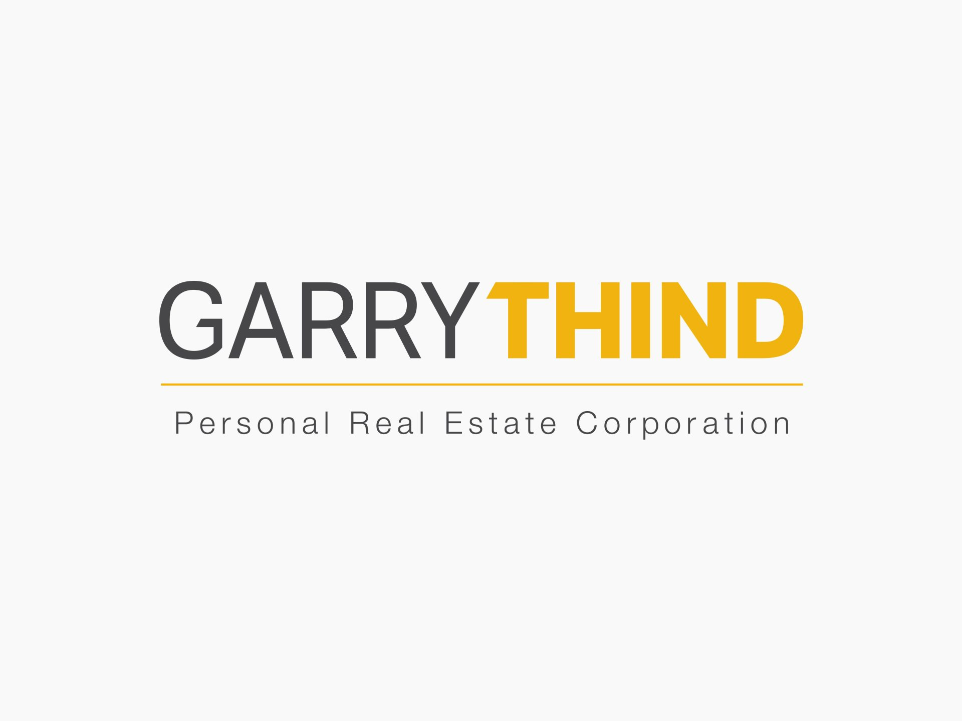 Y5 Creative Case Studies 2017 Garry Thind Realtor Logo