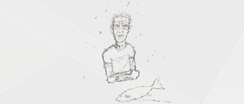 Illustrated Interview Chef Edition: Anthony Bourdain