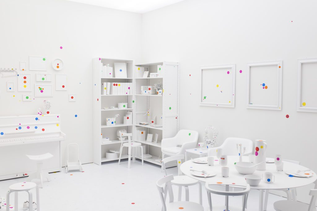Obliteration Room, by Yayoi Kusama