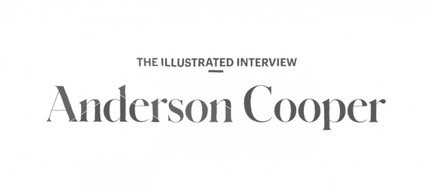 Illustrated Interview: Anderson Cooper