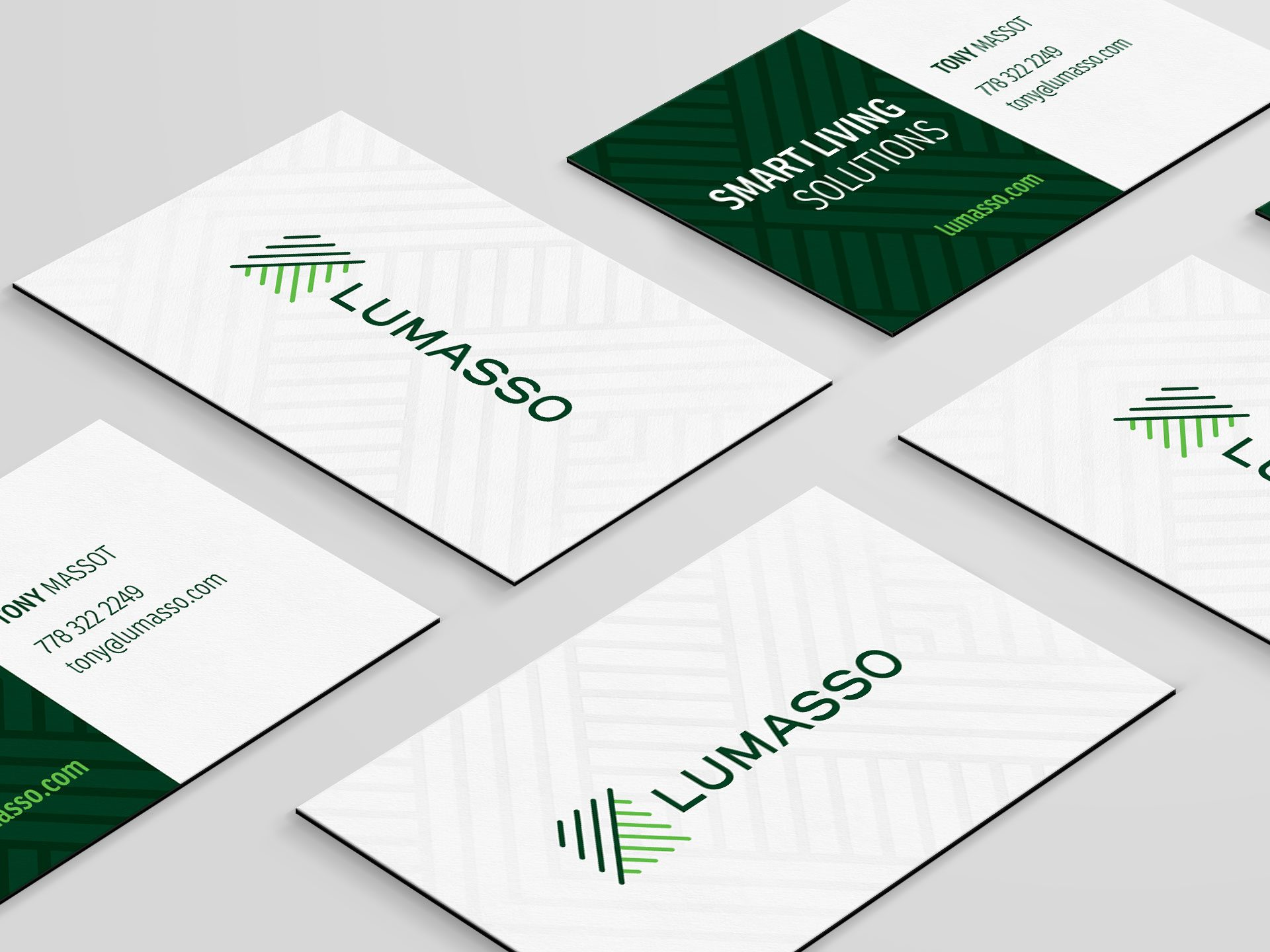 Y5 Creative Case Studies 2017 Business Cards Lumasso