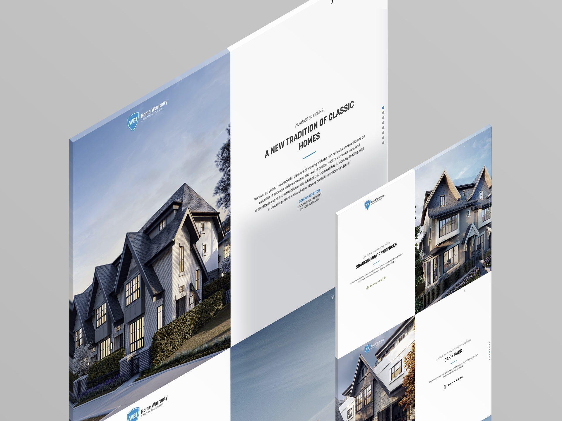 Y5 Creative Case Studies Microsite Website WBI Home Warranty