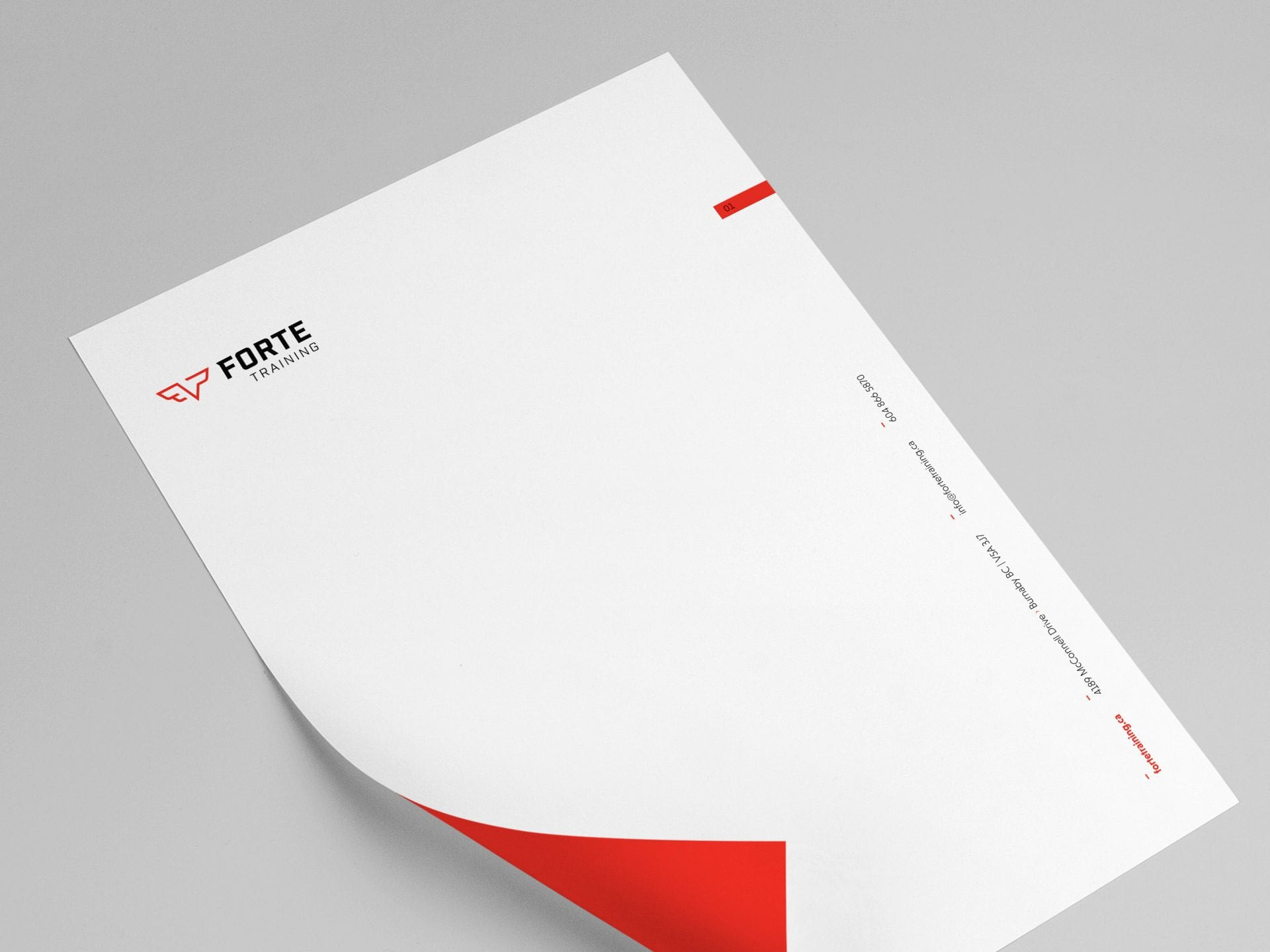 Y5 Creative Case Studies Forte Training 2019 Letterhead