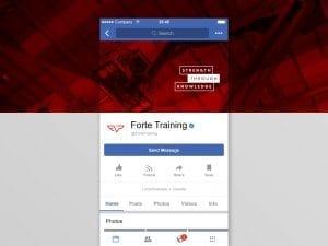 Y5 Creative Case Studies Forte Training 2019 Social Media Branding