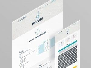Y5 Creative Case Studies LlamaLink Website 2 2019