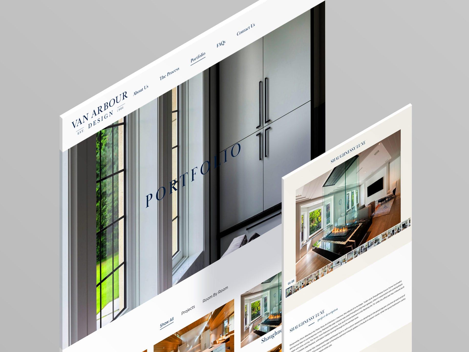 Y5 Creative Portfolio Van Arbour Design Web 2