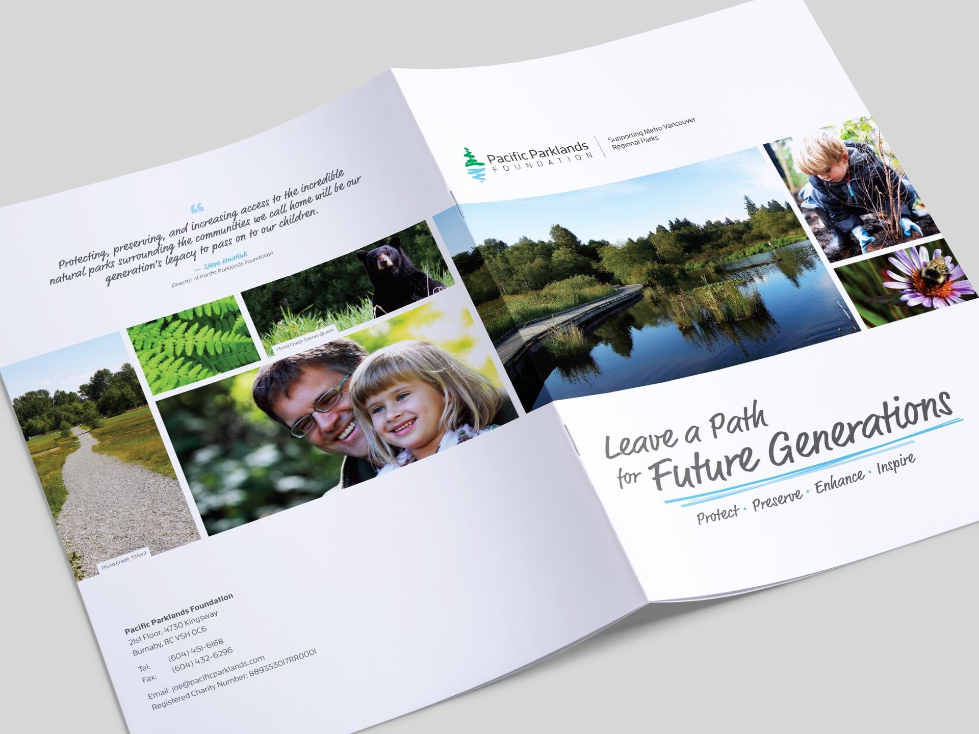Y5 Creative Case Studies Pacific Parklands Legacy Booklet 1